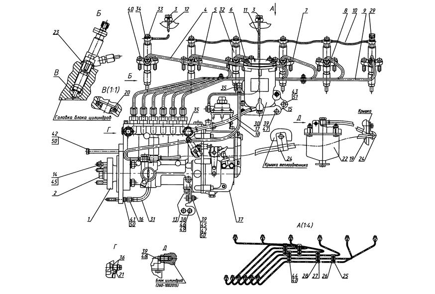 Sistemul de alimentare cu combustibil 1221, 1221.2