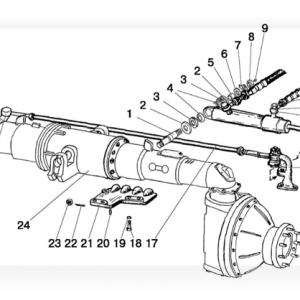 Cilindru hidraulic (Punte fata 72-2300020-A-04)